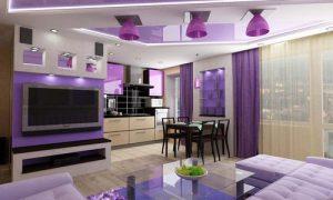 Планировка квартиры-студии 50 кв.м