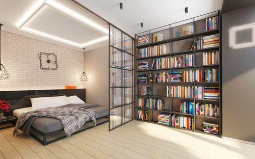 Квартира-студия со спальней и кухней