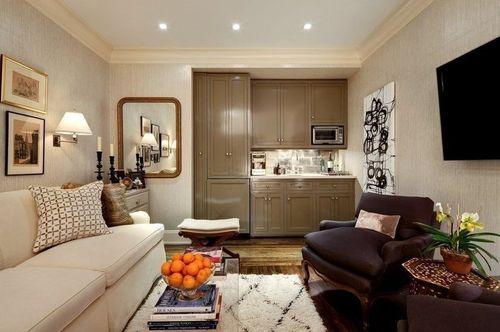 Идеальный подбор мебели для квартиры студии