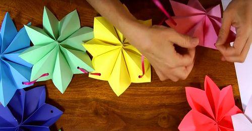Цветочные гирлянды своими руками