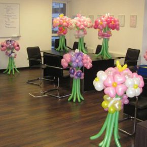 Мастер-класс как украсить офис к 8 марта