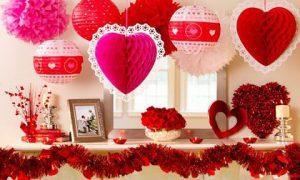 Как оригинально украсить дом к 14 февраля
