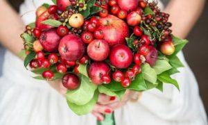 Как сделать букет из фруктов в подарок