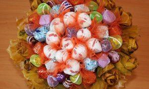 Мастер-класс по созданию букетов из конфет