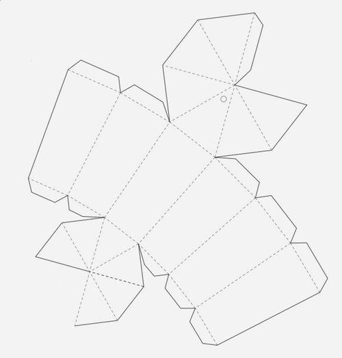 Как сделать объемные фигуры из бумаги своими руками схемы шаблоны 19