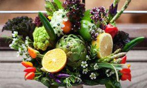 Идеи оригинальных букетов из овощей