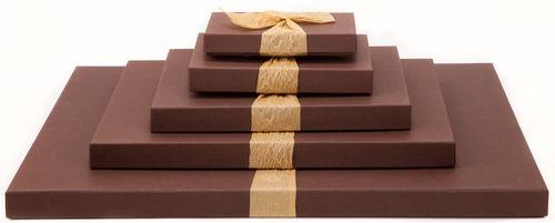 Многослойный вариант упаковки подарка