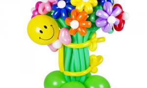 Оригинальные букеты из шаров своими руками