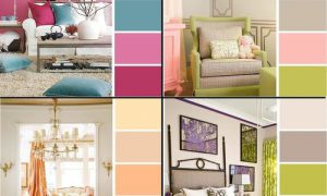 Таблица сочетания цветов в отделке интерьера