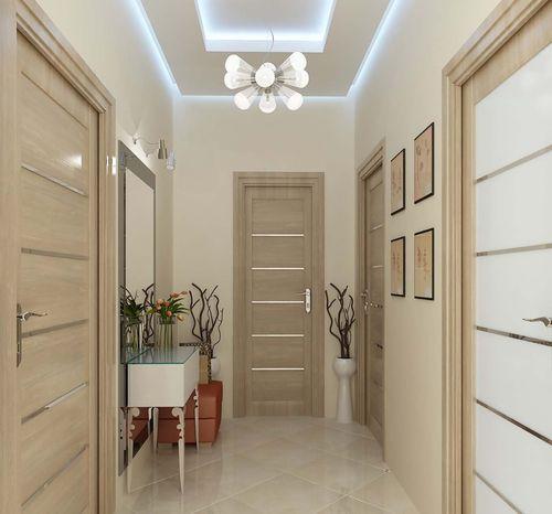 Варианты стильной прихожей для узкого коридора