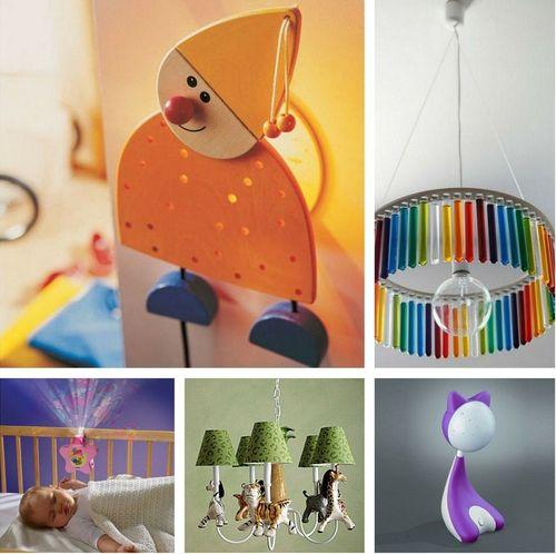 Ночные светильники для детской комнаты