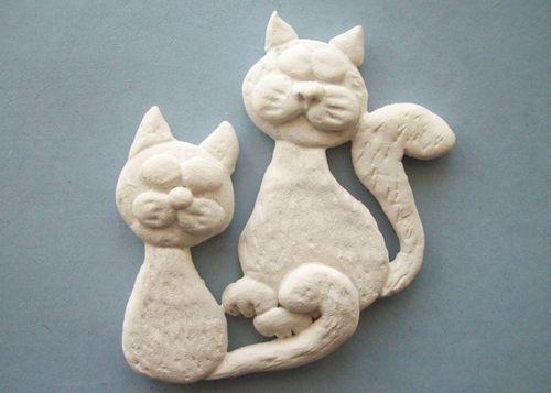 Коты из теста