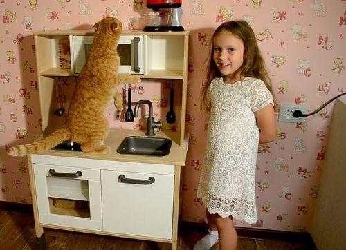 деревянная детская кухня