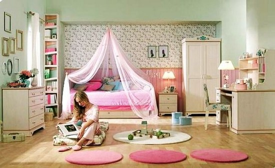 О планировании комнаты для девочки