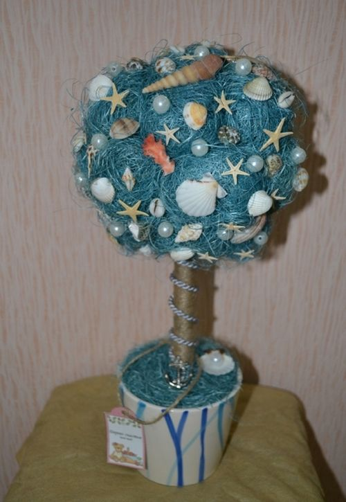 Дерево в морском стиле