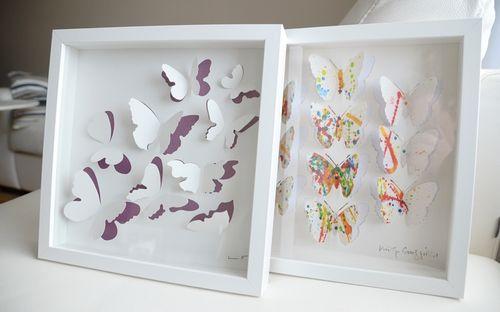 3D-картина с бабочками