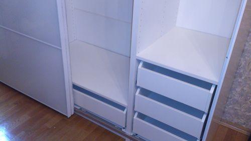 Внутреннее пространство шкафа