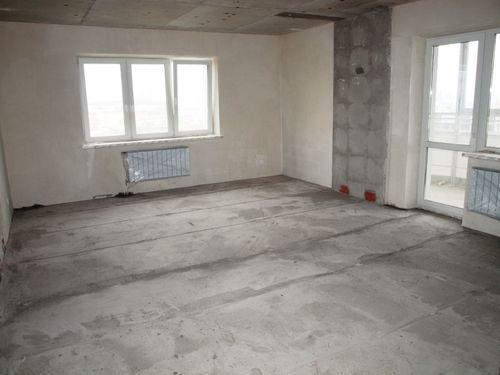 Начальное состояние квартиры в новостройке