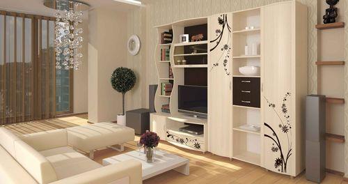 Корпусная мебель в светлых тонах
