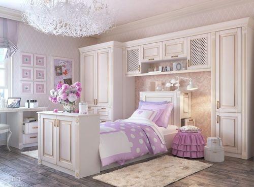 Обзор вариантов детских кроватей для девочки