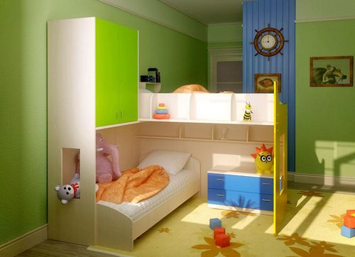 Лучшие идеи дизайна детской для двух разнополых детей