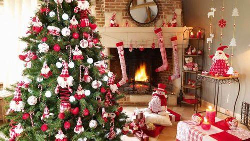Идеи как украсить дом к Новому году 2018
