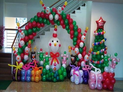 Декор шариками