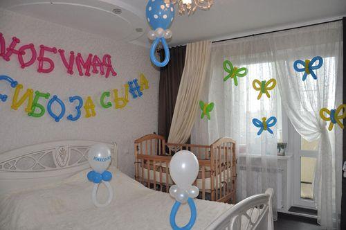 Лучшие идеи украшения комнаты на выписку из роддома