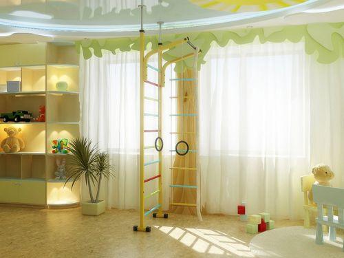 Варианты оформления детской комнаты с окном