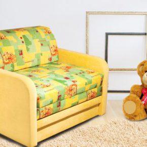 Обзор моделей компактных диванов для детской