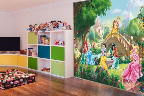 Фотообои для девочек принцессы и феи