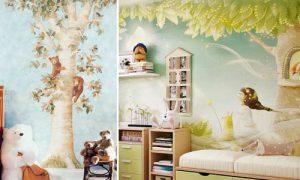 Обзор лучших фотообоев для детской комнаты