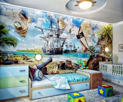 Фотообои пираты и море