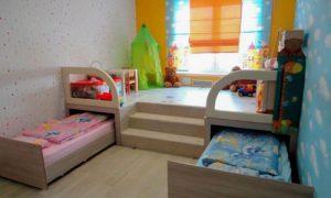 Варианты обоев для разнополых детей