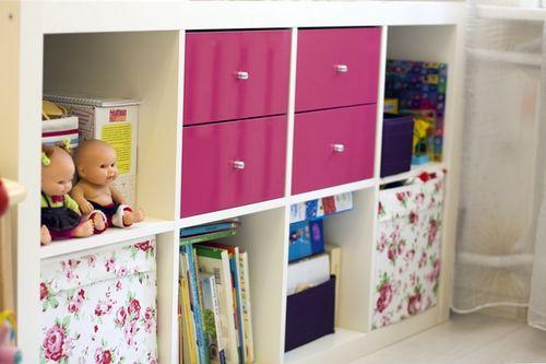 Удобное хранение игрушек