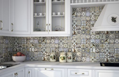 Плитка пэчворк для кухни