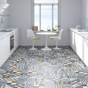 Выбираем плитку для кухни и ванны в стиле пэчворк