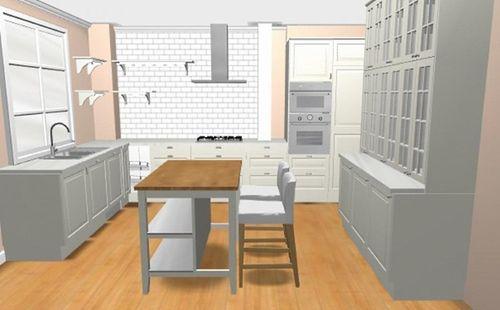 Создание кухни
