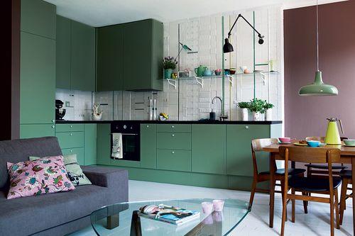 Зеленый цвет оформления