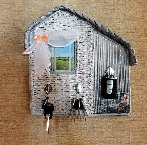 ключница в виде домика