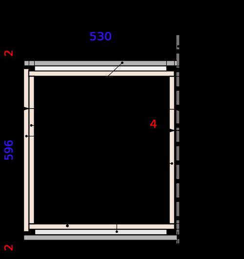 Параметры установки ящика