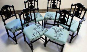 Способы обновления старых стульев