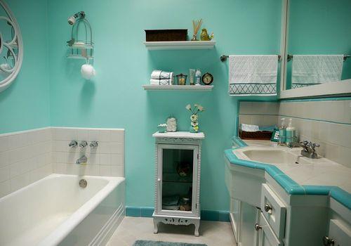 Дизайн ванной Тиффани