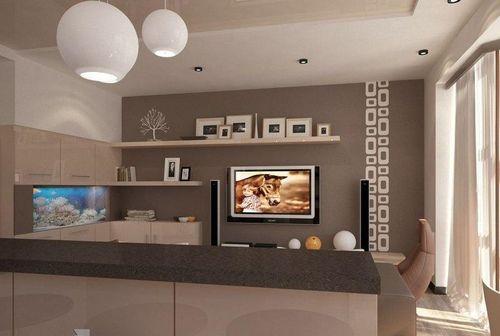 Комфортный дизайн зала