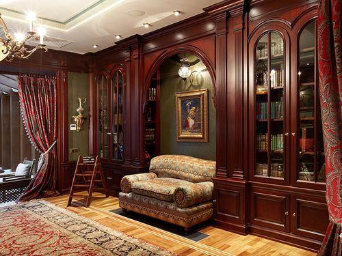 Шарм классики - мебель махагон