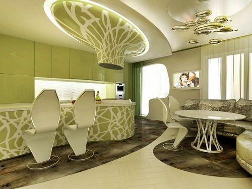 Дизайн бионической квартиры