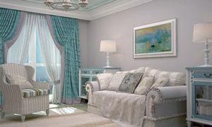 Идеи оформления гостиной в стиле Прованс