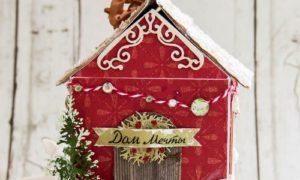 Как сделать красивый Новогодний домик