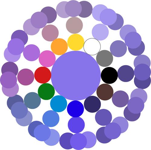 Как получить фиолетовый