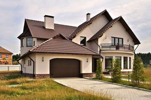 Дом совмещенный с гаражом